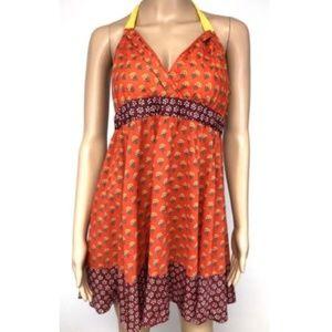 Anthropologie Edme Esyllte Floral Boho Dress Sz 6